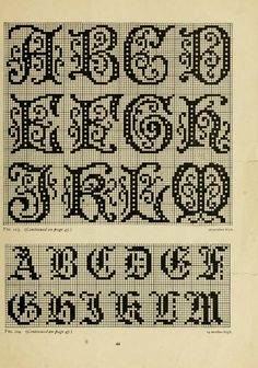 So many good patterns in this book. I love archive.org because it's all online... The Priscilla filet crochet book; a collection ...