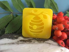 3D Stamp Hive 40mm diameter 10mm base no handle needed