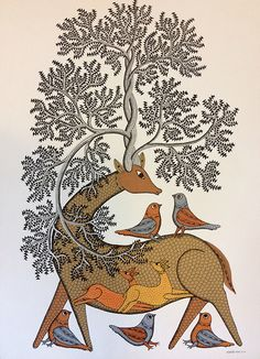 29 Ideas folk art painting patterns floral for 2019 Mural Painting, Fabric Painting, Disney Canvas Art, Kalamkari Painting, Art Tribal, Madhubani Art, Indian Folk Art, Madhubani Painting, Indian Art Paintings