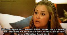 Lauren conrad.. The hills is so wise