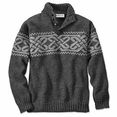 Just found this Celtic Knot Intarsia Sweater For Men - Celtic Knot Intarsia Pullover -- Orvis on Orvis.com!