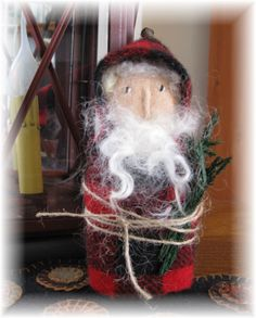 Another Old Time Santa I made.