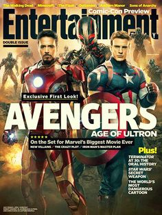 Firts look avenger: age of ultron