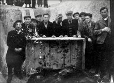 Biala podlaska ghetto After the war. Exhumation of the bodies of the victims. In a mass grave next to a pile of bodies. Polish Government, Polish People, World War Ii, Poland, Bodies, World War Two, Polish Language, Wwii