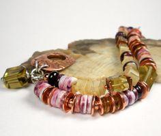 Multi Strand Gemstone Beaded Bracelet Repurposed by FebraRose