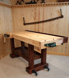 "Workbench | Woodworking | Woodworking Bench | 26"" x 72"""