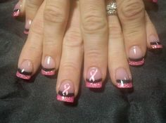 Breast Cancer Awareness gonna get this for my Dad but with some blue tips too
