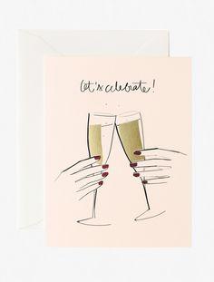 Garance Doré Boutique - Let's Celebrate Card