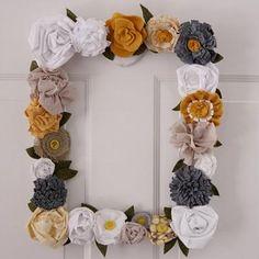 DIY Flower Frame