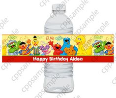 Hey, I found this really awesome Etsy listing at https://www.etsy.com/listing/110059862/sesame-street-water-bottle-label-digital