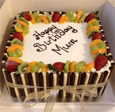 Image result for fresh cream cakes with fruit on top