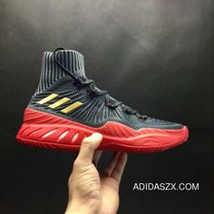 9c5a9aeca47 Adidas Crazy Explosive 2017 Primeknit Black-Gold Red New Release Latest