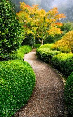 #Japanese garden, #Portland Oregon.