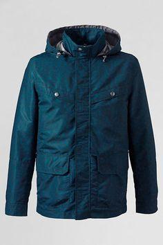 Men's Pattern Storm Raker Jacket from Lands' End