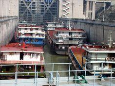 Three Gorges Dam ship lock -  Yangzte River