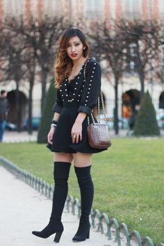 Rosa in Paris...