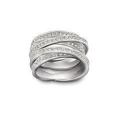Spiral Ring, Swarovski
