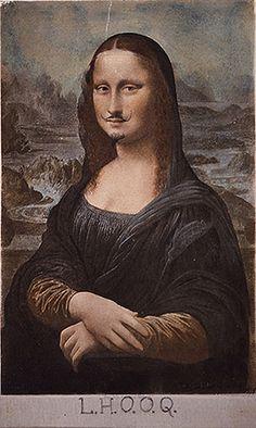 Marcel Duchamp. LHOOQ