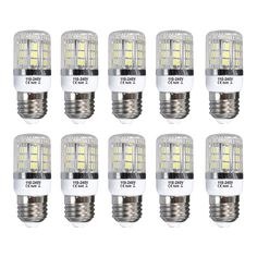 21.81$  Buy now - http://ali01a.shopchina.info/1/go.php?t=32792545975 - E27 5W Dimmable 27 SMD 5050 LED Corn Light Bulb Lamp Base Type:E27-5W Warm White(3000-3500K) Amount:10 Pcs  #magazineonlinebeautiful