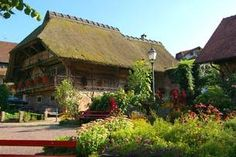 Beautiful traditional Black Forest building