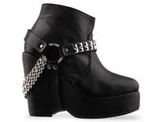maurie and eve. clik biker boot.