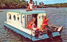 "Aqua-Trail ""Terra Marina"" was only in production for one year, from 1959-1960, and only 35 were ever made. This camping trailer doubled as a house boat."