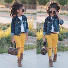 Kid fashion, girls fashion kids, little girl outfits, baby outfits, t Little Kid Fashion, Cute Little Girls Outfits, Girls Fall Outfits, Cute Kids Fashion, Tween Fashion, Baby Girl Fashion, Toddler Fashion, Fall Fashion, Retro Fashion