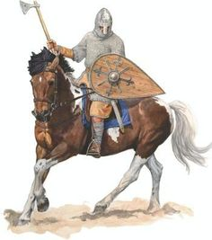 "0900 - 0999 Boleslav the Brave's mounted warrior (pol.""pancerny"" - Xcent)"