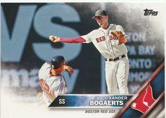 2016 Topps Series 2 Baseball Image Variation SP #368 Xander Bogaerts Red Sox #ToppsSeriesTwoBaseball #BostonRedSox