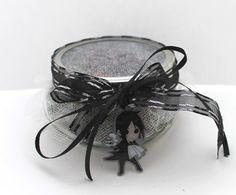 Black Butler Potpourri Jar