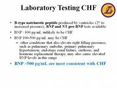 Laboratory Testing CHF- BNP Levels