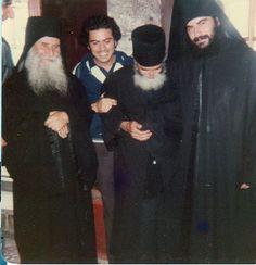 Joseph de Vatopedi, P. Païsios et Mgr Athanasios
