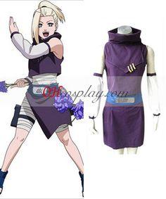Naruto Yamanaka Ino 1st Cosplay Costume