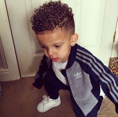 Curly Mohawk I Want This On My Sons Curly Hair Curly