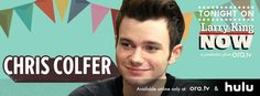 """Larry chats with Chris Colfer about what's next on """"Glee"""", being a best-selling author, and bringing his high school screenplay to the big screen. Chris' movie, """"Struck by Lightning"""" is in select theaters, and available on Video on Demand. Watch this full episode of #LarryKingNow on Ora TV & Hulu: http://on.ora.tv/VVN5KZ"""