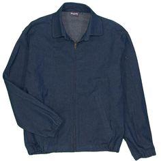 178e074c King Louie Raw Bowling Jean Jacket Men's Small Slub Nep Indigo Denim Made  USA #fashion