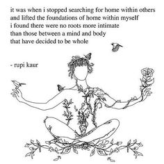 Rupi Kaur, on finding home within yourself