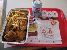 Al Baik Chicken. Saudi Arabia. This is where Tony Bourdain went! I want to go there and try this food!