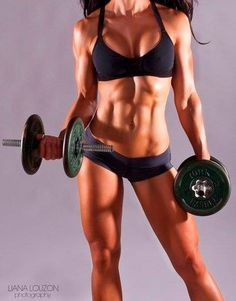Fitness motivation.. her body is amazing... this is my goal! It might take me a couple years, but I will get there.