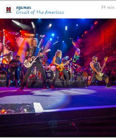 Metallica en los X Games Austin