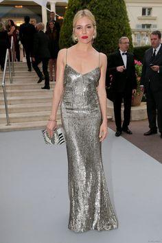 Sienna Miller, AmfAR Gala, 21 Mayıs 2015