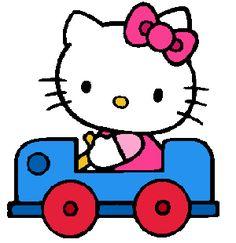 Hello Kitty carrinho
