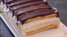 Romanian Desserts, Cake Slicer, Cake Recipes, Dessert Recipes, Serbian Recipes, Crazy Cakes, Eclairs, No Bake Desserts, Cake Cookies