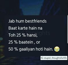Frndship is better than every. Best Friend Poems, Best Friend Quotes Funny, Best Friends Funny, Cute Funny Quotes, Bff Quotes, People Quotes, Girl Quotes, Friends In Love, Qoutes