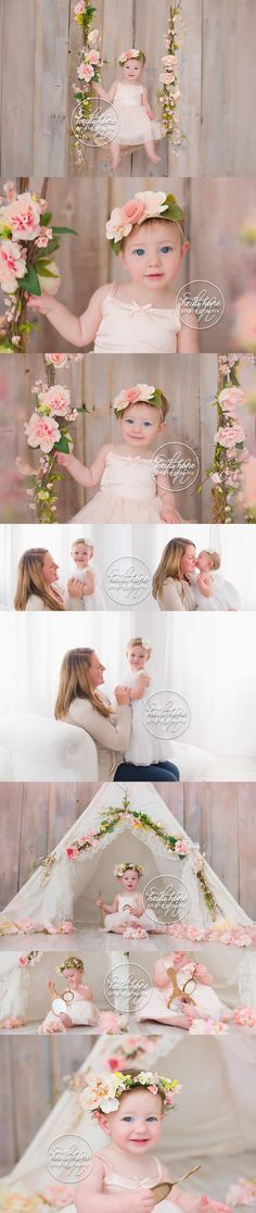 A sneak peek for baby L's sweet first birthday session! | Heidi Hope Photography
