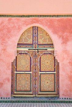 Marrakech Doorway