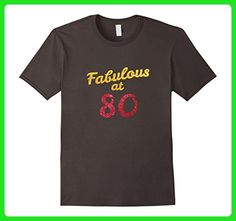 Mens 80th Birthday Shirt Cute 80 Year Old Gift Tshirt Men Womens Medium Asphalt - Birthday shirts (*Amazon Partner-Link)