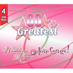 60 GREATEST WEDDING SONGS & LOVE SONGS-CD (Audio CD)  http://documentaries.me.uk/other.php?p=B0007XBMCU  B0007XBMCU