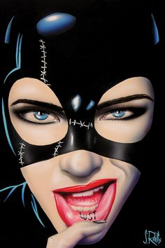 Catwoman by Scott Rohlfs Catwoman Cosplay, Batman And Catwoman, Catwoman 2004, Catwoman Mask, Arte Pop, Fantasy Anime, Fantasy Art, Comic Kunst, Comic Art