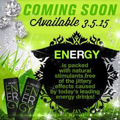 Finally a that is with out the Crash! Count down begins! It Works Global, We Energies, Free Boxes, Love My Job, Check It Out, Energy Drinks, You Changed, How To Get, Amazing